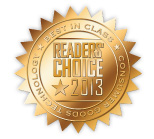 CGT 2013 Readers' Choice Award